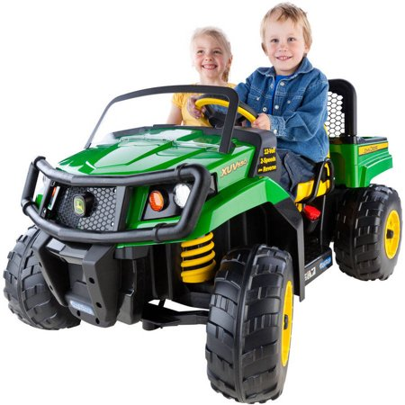 - Peg Perego John Deere Gator XUV 12-volt Battery-Powered Ride-On