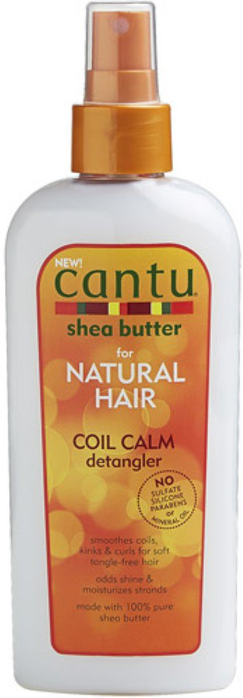Cantu Shea Butter for Natural Hair Coil Calm Detangler 8 fl. (Natural Remedies Hair Care)