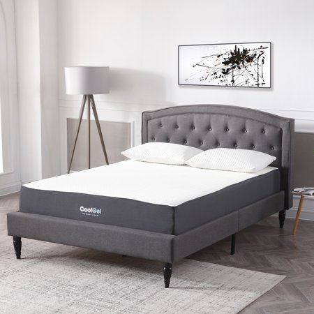 Modern Sleep Cool Gel Ventilated Gel Memory Foam 105 Inch Mattress