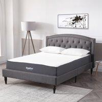 Modern Sleep Cool Gel Ventilated Gel Memory Foam 10.5-Inch Mattress, Multiple Sizes