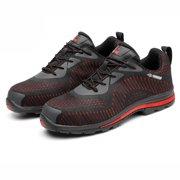 678208ee6f Meigar Women's Lightweight Safety Trainer Steel Toe Breath Work Boots  Outdoor Sneaker Shoes