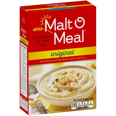 (2 Pack) Malt-O-Meal Quick Wheat Hot Cereal, Original, 36 (Mighty Tasty Hot Cereal)
