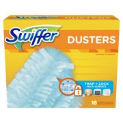 Swiffer Multi Surface Duster Refills, Unscented Scent, 18 Count