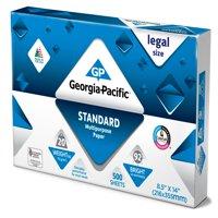 "Georgia-Pacific Std. Legal Paper 8.5"" x 14"", 20lb/92 Bright, 500 Sheets"