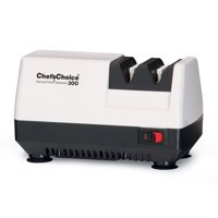 Chef's Choice Diamond Hone Compact M300 Knife Sharpener, White