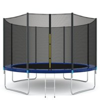 Deals on Gymax 12 FT Trampoline Combo Bounce Jump Safety Enclosure Net