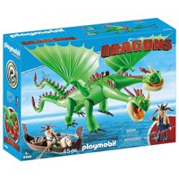 PLAYMOBIL How to Train Your Dragon Ruffnut and Tuffnut with Barf and Belch