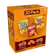Kellogg's Chips Deluxe, Cheez-It, & Fudge Stripes Variety Snack Pack, 21.2 Oz., 20 Count
