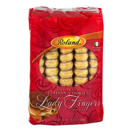 Roland Imported Italian Cookies Lady Fingers, 17.6 OZ - Halloween Finger Foods Desserts