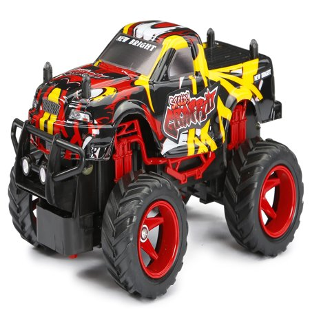 New Bright RC 1:24 Scale Speedy Graffiti Radio Control Truck ()