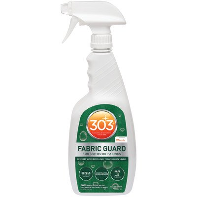303 (30606) Fabric Guard, Upholstery Protector, Water and Stain Repellent, 32 fl. (Best Fabric Protector Spray)