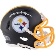 d42fe6493 Antonio Brown Pittsburgh Steelers Autographed Riddell Black Matte Alternate  Speed Mini Helmet - Fanatics Authentic Certified
