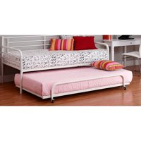 DHP Trundle for Metal Daybed Twin Size, Multiple Colors