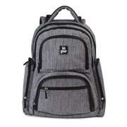 Baby Boom BB Gear Grey Heather Backpack Diaper Bag 04be487804