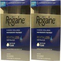 8 Month Supply Men's Rogaine Unscented Foam 5% Minoxidil Hair Regrowth Treatment