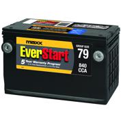 EverStart Maxx Lead Acid Automotive Battery, Group 79