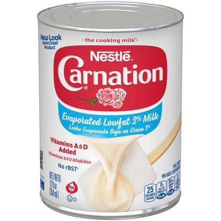CARNATION Evaporated Lowfat 2% Milk 12 fl. oz. Can (Evaporated Milk)