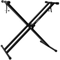 ChromaCast Pro Series Double Braced X-Style Keyboard Stand with Locking Straps