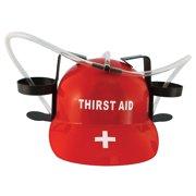 Thirst Aid Beer Drinking Hard Hat