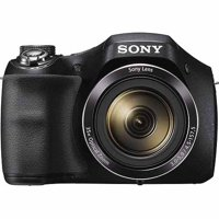 Sony Black DSC-H300/B Digital Camera with 20.1 Megapixels and 35x Optical Zoom