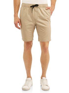 Big Men's Woven Jogger Short