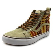 ed6b4e5d88 Vans Sk8-Hi MTE Men Round Toe Synthetic Tan Sneakers