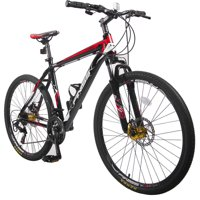 """26"""" Merax Finiss Aluminum 21-Speed Mountain Bike Racing Bicycle with Disc Brakes"""