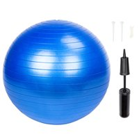 Ktaxon 75 cm Exercise Fitness Anti Burst Yoga Ball with Air Pump, for Medicine, Stability, Balance, Pilates Training, Great for Home Gym Use