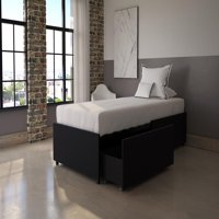 DHP Maven Platform Bed with Storage, Multiple Sizes and Finishes