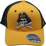 big sale b1c23 a6eea NCAA ECU Pirates Fitted Small Hat Cap Yellow Black