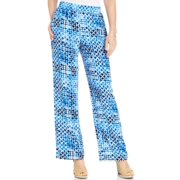 8fe06ff89a7 JM Collection Women s Printed Pull-On Wide Leg Pants Size S