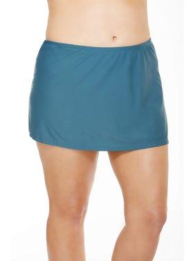 Women's Plus-Size Skirted Swimsuit Bottom