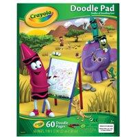 Crayola Doodle Pad, 9 X 12 in, 60 Sheets