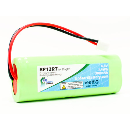 Dig Battery (Dogtra 2202 NCP Battery - Replacement for Dogtra BP12RT Dog Training Collar Receiver Battery (300mAh, 4.8V, NI-MH))