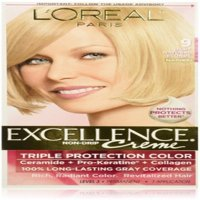 L'Oreal Paris Excellence Creme Haircolor, Light Natural Blonde [9] 1 ea