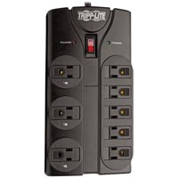 Tripp Lite TLP808B Protect It! 8-Outlet Surge Protector, 8ft Cord