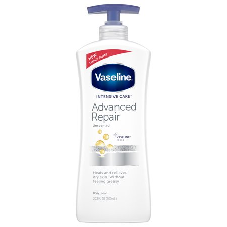 Vaseline Intensive Care Advanced Repair Unscented Body Lotion, 20.3 oz - Intensive Nurturing Care