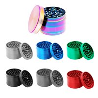 Titanium Herb Spice Grinder, Medium (5-Piece)