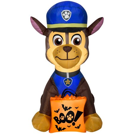 Halloween Airblown Inflatable Chase with Boo Bag by Gemmy Industries - Halloween Inflatable Ball Toss