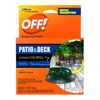 OFF! Mosquito Coil IV Refills, 6 count, 2.118 Ounces