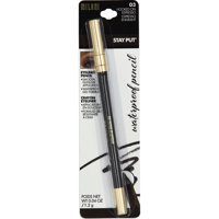 MILANI Stay Put Waterproof Eye Liner Pencil, Hooked On Espresso