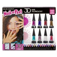 Nail-a-Peel Deluxe Color 3-D Manicure Kit