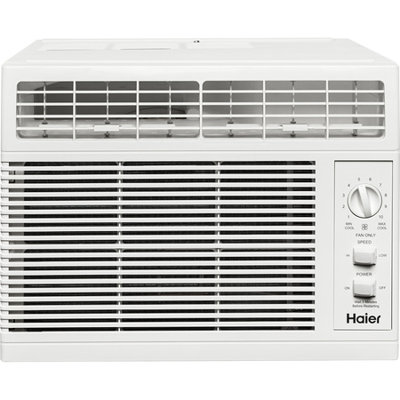- Haier 5,000 BTU Mechanical Air Conditioner, QHV05LX