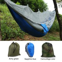 Tbest Double Person Camping Hammock With Mosquito Net for Outdoor Garden Jungle,Camping Tent Hammock ,Camping Hammocks