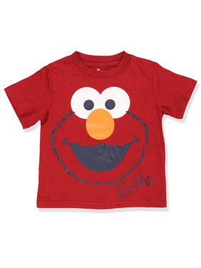 Sesame Street Elmo Boys Short Sleeve Tee (Baby/Toddler) 6SE4718