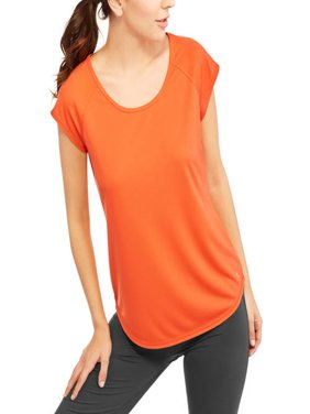 Women's Short Sleeve Mesh T-Shirt with Open Back