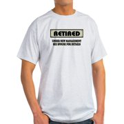 0de0265e3d CafePress - Funny Retirement Gift, Retired, Unde - Light T-Shirt - CP