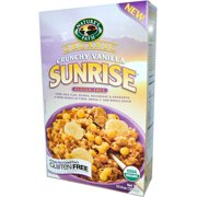 Nature's Path, Organic, Sunrise Crunchy Vanilla Cereal, Gluten Free, 10.6 oz (pack of 12)