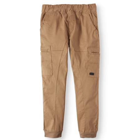 Beverly Hills Polo Club Pull On Stretch Twill Skinny Cargo Jogger Pants (Big (Boys Dress Twill Pant)