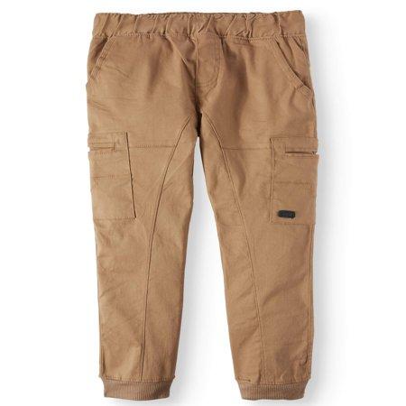 Beverly Hills Polo Club Pull On Stretch Twill Skinny Cargo Jogger Pants (Big (Boys Microfiber Cargo Pants)